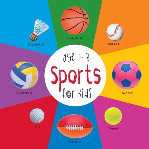 Sports for Kids Age 1-3 (Engage Early Readers: Children's Learning Books) with Free eBook (Paperback)