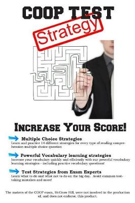 COOP Test Strategy: Winning Multiple Choice Strategies for the Test for the Cooperative Admissions Exam (Paperback)