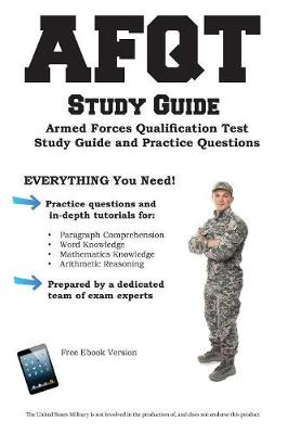 Afqt Study Guide: Armed Forces Qualification Test Study Guide and Practice Questions (Paperback)