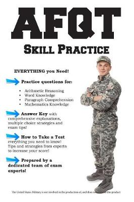 Afqt Skill Practice: Armed Forces Qualification Test Practice Questions (Paperback)