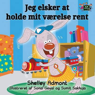 I Love to Keep My Room Clean: Danish Edition - Danish Bedtime Collection (Paperback)