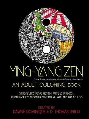 Yin-Yang Zen, Adult Coloring Book (Paperback)