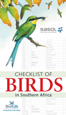 Checklist of birds in Southern Africa (Paperback)