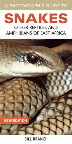 A photographic guide to snakes: Other reptiles and amphibians of East Africa (Paperback)