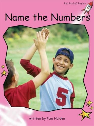 Red Rocket Readers: Pre-Reading Non-Fiction Set C: Name the Numbers (Paperback)