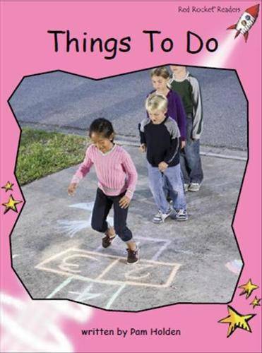 Red Rocket Readers: Pre-Reading Non-Fiction Set C: Things to Do (Paperback)