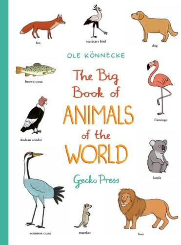 The Big Book of Animals of the World (Paperback)