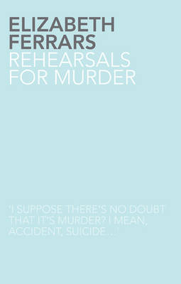 Rehearsals for Murder (Paperback)