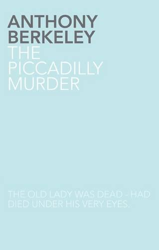 The Piccadilly Murder (Paperback)