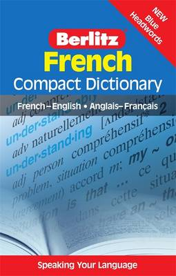 Berlitz Compact Dictionary French - Berlitz Compact Dictionary (Paperback)