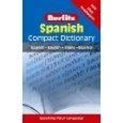 Berlitz Compact Dictionary Spanish - Berlitz Compact Dictionary (Paperback)