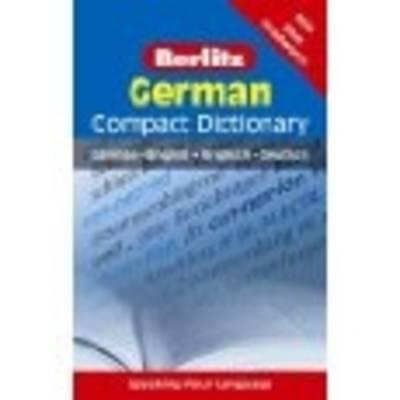 Berlitz Compact Dictionary German - Berlitz Compact Dictionary (Paperback)