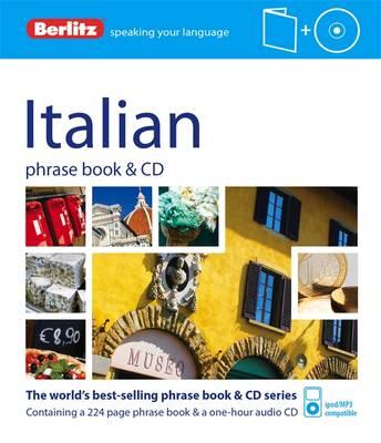 Berlitz Language: Italian Phrase Book - PHRASE BOOK & CD