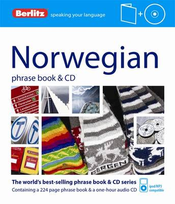 Berlitz Language: Norwegian Phrase Book & CD - PHRASE BOOK & CD