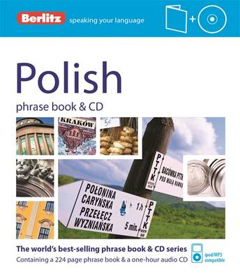 Berlitz Language: Polish Phrase Book - PHRASE BOOK & CD