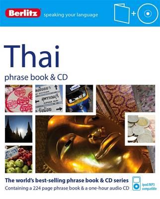Berlitz Language: Thai Phrase Book & CD - Berlitz Phrase Book & CD (Paperback)