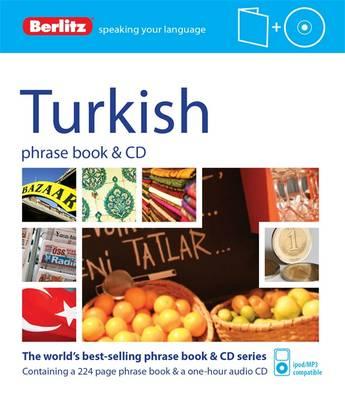 Berlitz Phrase Book & CD Turkish - Berlitz Phrase Book & CD (Paperback)