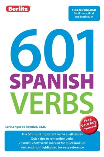 Berlitz 601 Verbs Spanish - Berlitz 601 Verbs (Paperback)