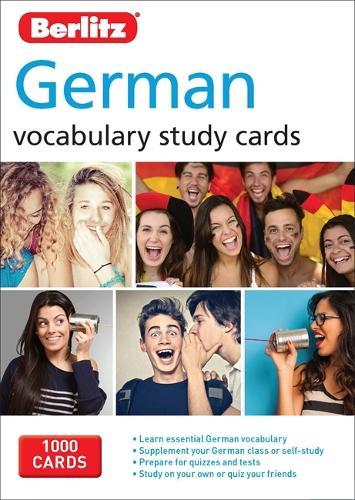Berlitz Flash Cards German - Berlitz Vocabulary Study Cards
