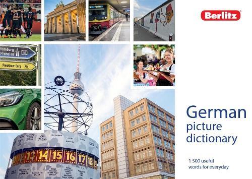 Berlitz Picture Dictionary German - Berlitz Picture Dictionaries (Paperback)