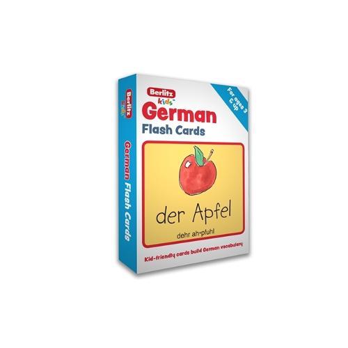 Berlitz German Flash Cards - Berlitz Flashcards