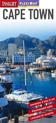 Insight Guides Flexi Map Cape Town - Insight Flexi Maps (Sheet map)