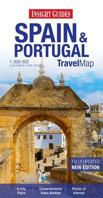 Insight Travel Map: Spain & Portugal (Paperback)