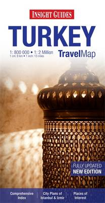 Insight Guides Travel Map Turkey - Insight Travel Maps (Sheet map)