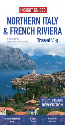 Insight Travel Map: Northern Italy & French Riviera - TRAVEL MAPS (Paperback)
