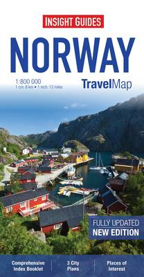 Insight Travel Maps: Norway - Insight Travel Maps (Sheet map)