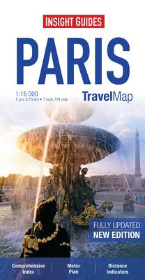 Insight Travel Map: Paris - Insight Travel Maps (Sheet map)