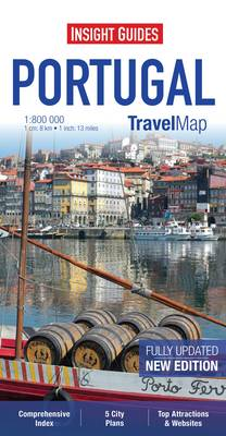 Insight Travel Map: Portugal - TRAVEL MAPS (Paperback)