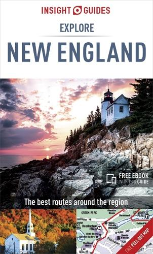 Insight Guides Explore New England - Insight Explore Guides (Paperback)