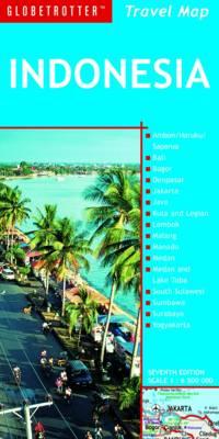 Indonesia - Globetrotter Travel Map (Sheet map, folded)
