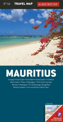 Mauritius Travel Map - Globetrotter Travel Map (Sheet map, folded)
