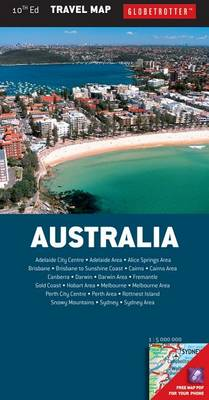 Australia Travel Map - Globetrotter Travel Map (Sheet map, folded)