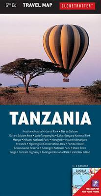 Tanzania - Globetrotter Travel Map (Sheet map, folded)