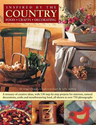 Inspired by the Country: Food, Crafts, Decorating (Paperback)