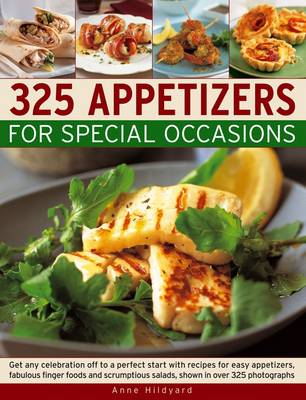 325 Appetizers for Special Ossasions (Paperback)