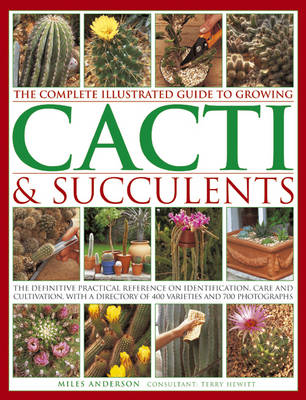 Complete Illustrated Guide to Growing Cacti and Succulents (Paperback)