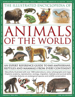 Illustrated Encyclopedia of Animals of the World (Paperback)