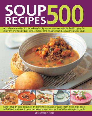 500 Soup Recipes (Paperback)