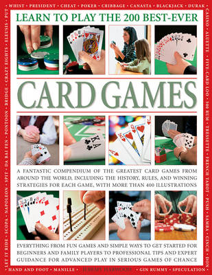 Learn To Play The 200 Best Ever Card Games (Paperback)