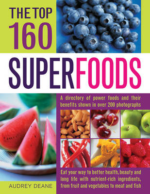 Top 160 Superfoods (Paperback)