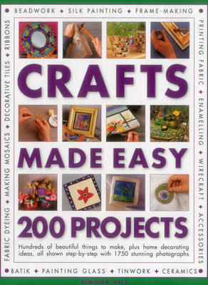 Crafts Made Easy: 200 Projects (Paperback)