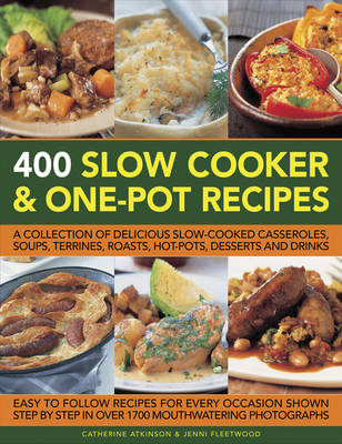 400 Slow Cooker & One-Pot Recipes (Paperback)