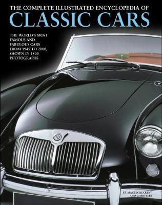 Complete Illustrated Encyclopedia of Classic Cars (Paperback)
