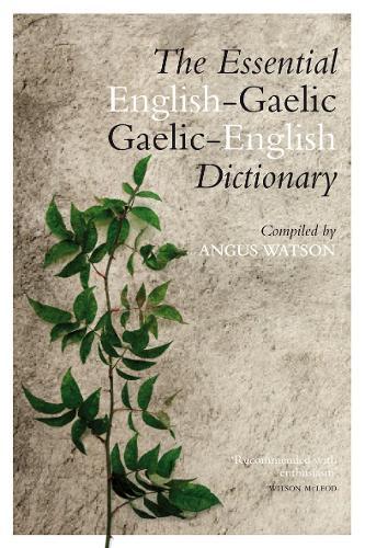 The Essential Gaelic-English / English-Gaelic Dictionary (Paperback)