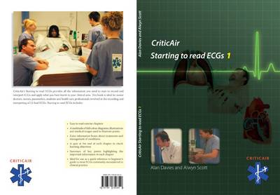 CriticAir Starting to Read ECGs 1: 1 (Paperback)