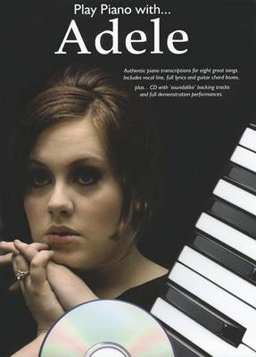 Play Piano With... Adele (Paperback)